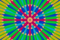 Абстрактный карандаш Стоковое Изображение