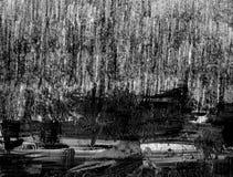 Абстрактный карандаш scribbles текстура предпосылки Стоковое Фото