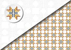 абстрактный квадрат картины Стоковая Фотография RF
