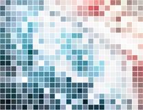 абстрактный квадрат пиксела мозаики предпосылки Стоковая Фотография