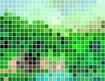абстрактный квадрат пиксела мозаики предпосылки Стоковая Фотография RF