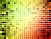 абстрактный квадрат пиксела мозаики предпосылки Стоковое фото RF