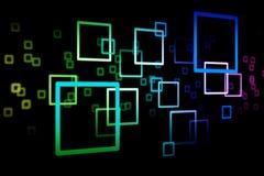 абстрактный квадрат 0001 Стоковое Фото