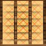 Абстрактный квадрат на бежевой предпосылке Стоковая Фотография RF
