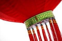 абстрактный китайский красный цвет фонарика Стоковая Фотография RF