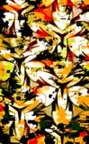 абстрактный клевер ретро Стоковое фото RF