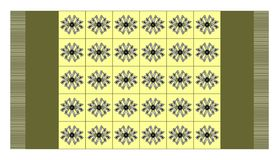 абстрактный ковер Стоковая Фотография RF