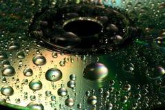 абстрактный компактный диск стоковая фотография rf