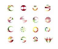 абстрактный комплект элементов конструкции Стоковые Фото