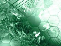 абстрактный компьютер состава предпосылки схематический стоковое фото