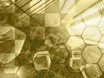 абстрактный компьютер состава предпосылки схематический стоковые фотографии rf