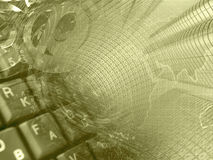 абстрактный компьютер состава предпосылки схематический стоковое изображение rf
