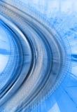 абстрактный компьютер увеличил фото Стоковая Фотография RF
