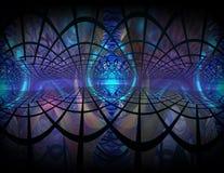абстрактный компьютер Стоковое Изображение