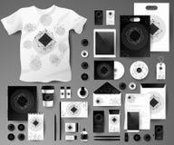 Абстрактный комплект дела корпоративно иллюстрация вектора