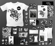 Абстрактный комплект дела Шаблоны фирменного стиля Стоковые Фотографии RF