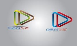 абстрактный комплект логоса Стоковое фото RF