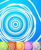 Абстрактный комплект предпосылки Квадратные предпосылки формата с geometri Стоковое фото RF