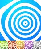 Абстрактный комплект предпосылки Квадратные предпосылки формата с geometri Стоковое Фото