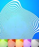Абстрактный комплект предпосылки Квадратные предпосылки формата с geometri Стоковая Фотография RF
