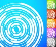 Абстрактный комплект предпосылки Квадратные предпосылки формата с geometri Стоковое Изображение