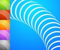 Абстрактный комплект предпосылки Квадратные предпосылки формата с geometri Стоковое Изображение RF