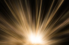 Абстрактный коричневый свет золота стоковые изображения
