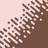 Абстрактный коричневый цвет округлил линии переход полутонового изображения вектор иллюстрация вектора