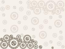 абстрактный коричневый цвет предпосылки выравнивает изображение Стоковое Изображение RF