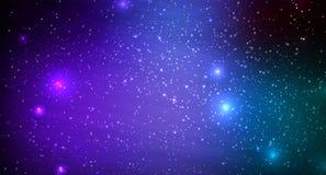 абстрактный космос предпосылки Стоковое Фото