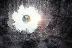 абстрактный космос предпосылки Стоковые Фото