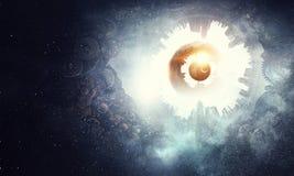 абстрактный космос предпосылки иллюстрация штока