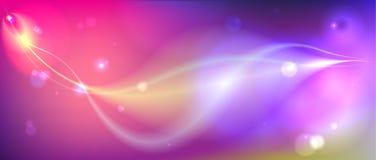 Абстрактный космос состава Стоковая Фотография RF