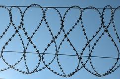 абстрактный колючий провод иллюстрации схематической конструкции Стоковое Изображение