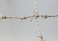 абстрактный колючий провод иллюстрации схематической конструкции Стоковое Фото