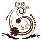 абстрактный красивейший вектор flor Стоковая Фотография