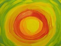 абстрактный красить цветов Стоковые Фотографии RF