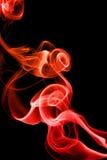 абстрактный красный дым стоковые изображения rf