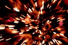 Абстрактный красный огонь Стоковая Фотография