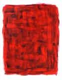 абстрактный красный цвет картины черного смазочного минерального масла Стоковое фото RF