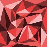 абстрактный красный цвет картины Стоковые Изображения
