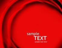 абстрактный красный цвет поднял Стоковое Фото