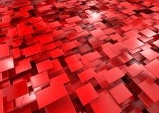 абстрактный красный цвет предпосылки Стоковое фото RF
