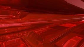 абстрактный красный цвет предпосылки 3d Стоковая Фотография RF