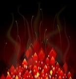 абстрактный красный цвет предпосылки иллюстрация штока