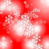 абстрактный красный цвет рождества предпосылки Стоковая Фотография RF