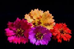 абстрактный красный цвет цветка Стоковое Изображение
