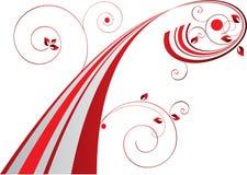 абстрактный красный цвет Стоковые Изображения