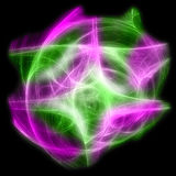 Абстрактный красочный взрыв фрактали Стоковая Фотография RF
