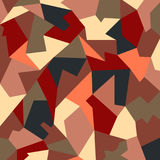 Абстрактный красочный полигон Глубокие тени бесплатная иллюстрация